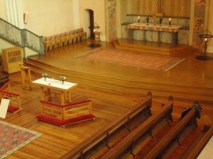 Der Altarraum der Sofiakirche