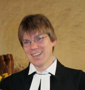 Dr. Gunnar Garleff, neuer Pfarrer der Friedensgemeinde, wird am 17. Februar in sein Amt eingeführt.