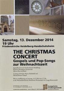 Christmas Concert Jugendkantorei red