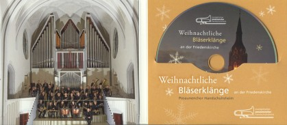 Posaunenchor CD Hülle