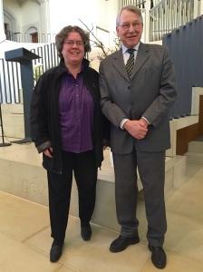 Neue Älteste: Margit Seppich und Peter Heesch