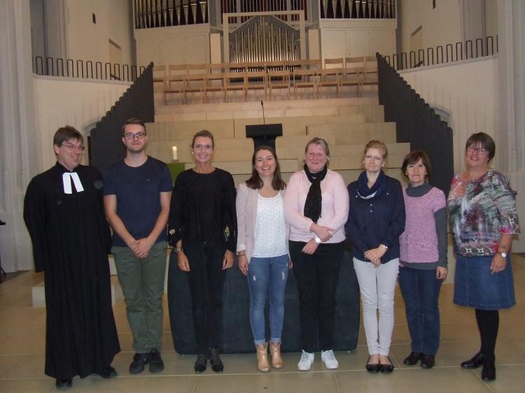2018 Einführung Kiga-Team 23.9. Doro Spahn-Lanziner (es fehlen Wittzorreck und Hübner)